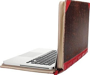 Old Leather Book Laptop Case £60.31