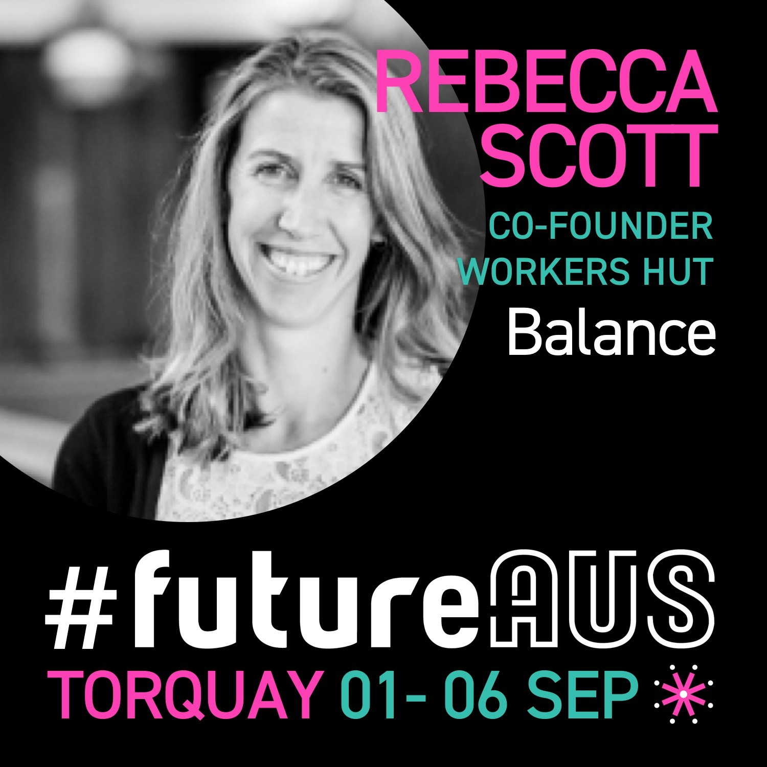 "Rebecca Scott  is a co-founder of the  Workers Hut , the first coworking space on the Surf Coast connecting startups, creatives, tradies and dreamers in a relaxed and vibrant workspace in the iconic surf wear prescinct in Torquay. Rebecca is also the Founder of Health Tech Start up  Eazilee  a combined community and marketplace   using story telling to showcase the possibilities of Assistive Technologies to enable greater independence for young people with a disability. This early stage startup is a culmination of a previous 20 year career as a clinical health professional and educator. Eazilee is part of the Melbourne Health Accelerator (MHX) at the Royal Melbourne Hospital. Rebecca will share her insights on  ""finding the balance between family, coworking and tech-startup"""