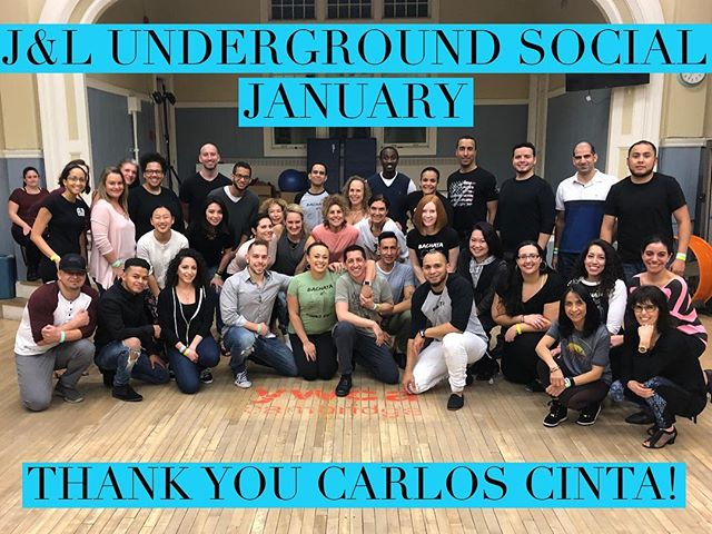 Thank you to everyone who came out to supper the January edition of the #jlundergroundsocial ! Special thanks to our guest DJ @ccbachata for the 🔥 music and workshops. It's always a pleasure. Can't wait for the February 2 with @araguacu !! Be on the look out for early bird discount tickets! #jennaluisbachata #teamjandl #bachata #bostonbachata