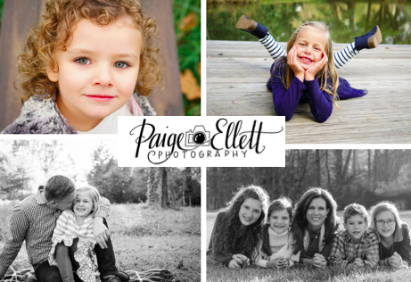 FAMILY PHOTOGRAPHY SESSION   Capture beautiful memories with a family session by Photographer Paige Ellett. Includes sitting fee and digital gallery of edited images. No expiration date.  DONOR: Paige Ellett Photography VALUE: $175