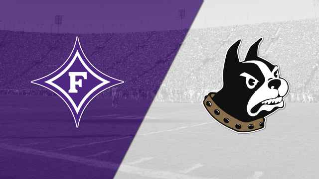 WOFFORD VS FURMAN FOOTBALL TICKETS   Don't miss these rivals play on November 16, 2019 at 1:30pm. You will be the recipient of four (4) reserved seat tickets to see the Wofford Terriers take on the Furman Paladins at Wofford's Gibbs Stadium. *Tickets to be picked up at Will Call. Parking pass is NOT included.  DONOR: Wofford College Terriers Football VALUE: $108 Face Value