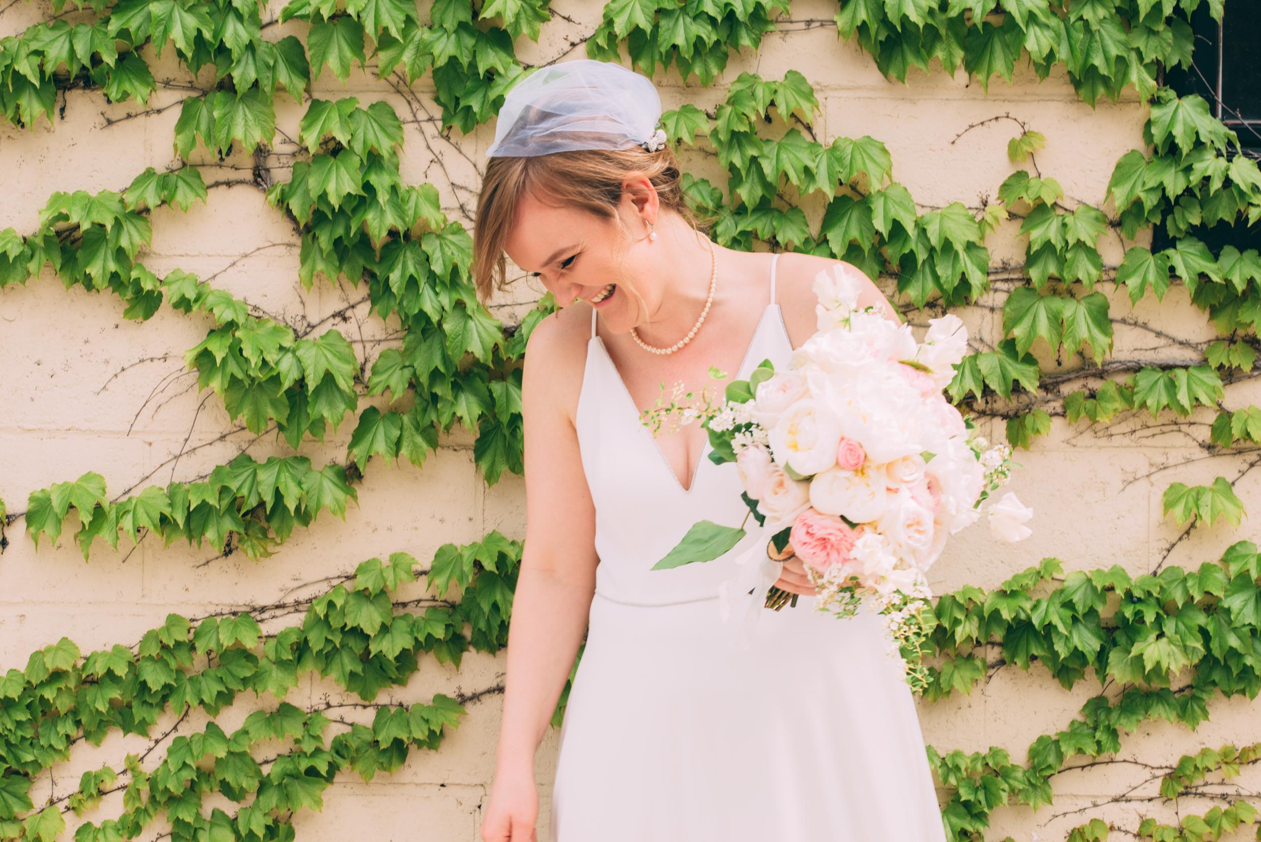 Bridal Portrait Toronto Wedding at Airship 37 with Soundslikeyellowphotography