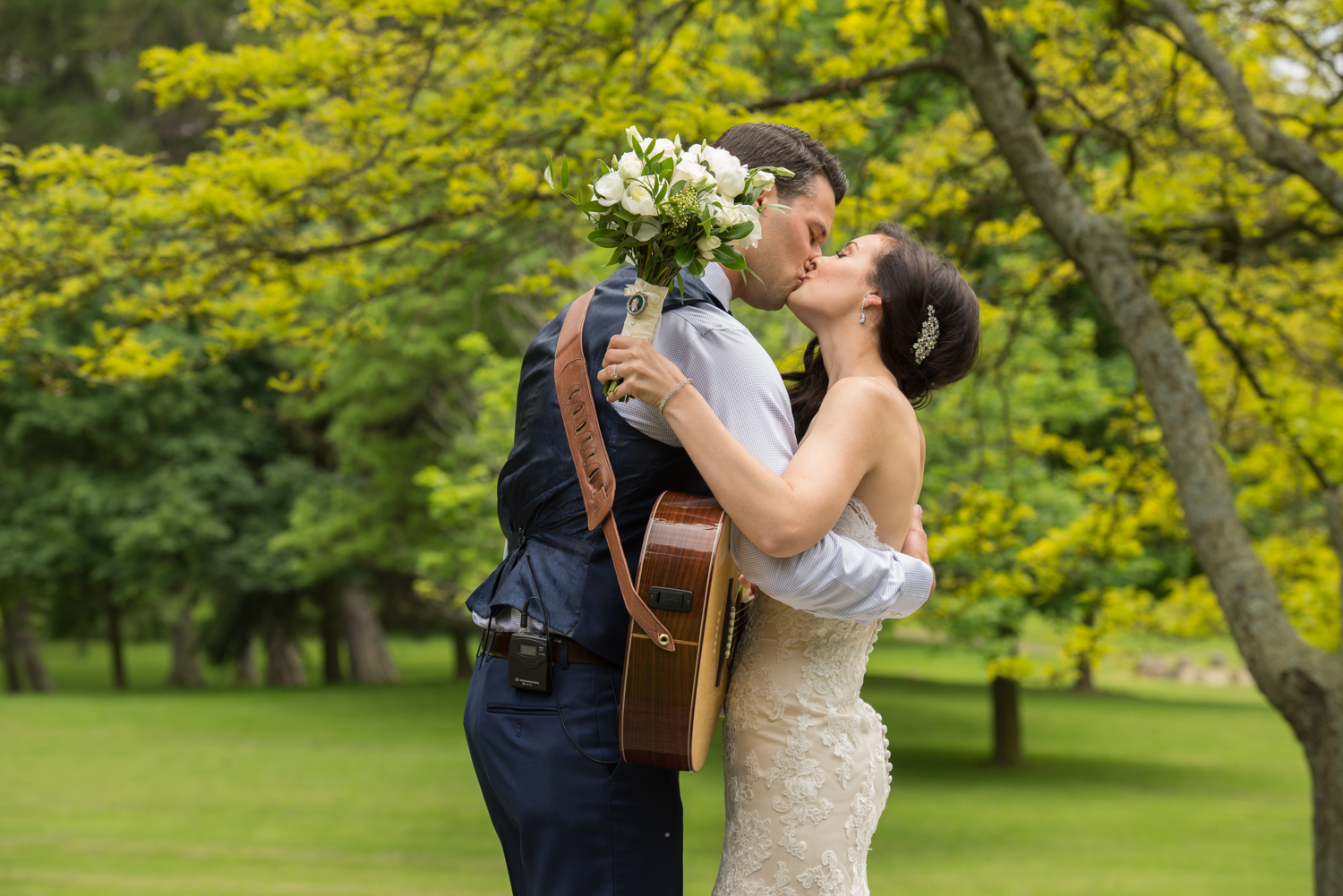 Ancaster Mill Wedding with sounds like yellow photography