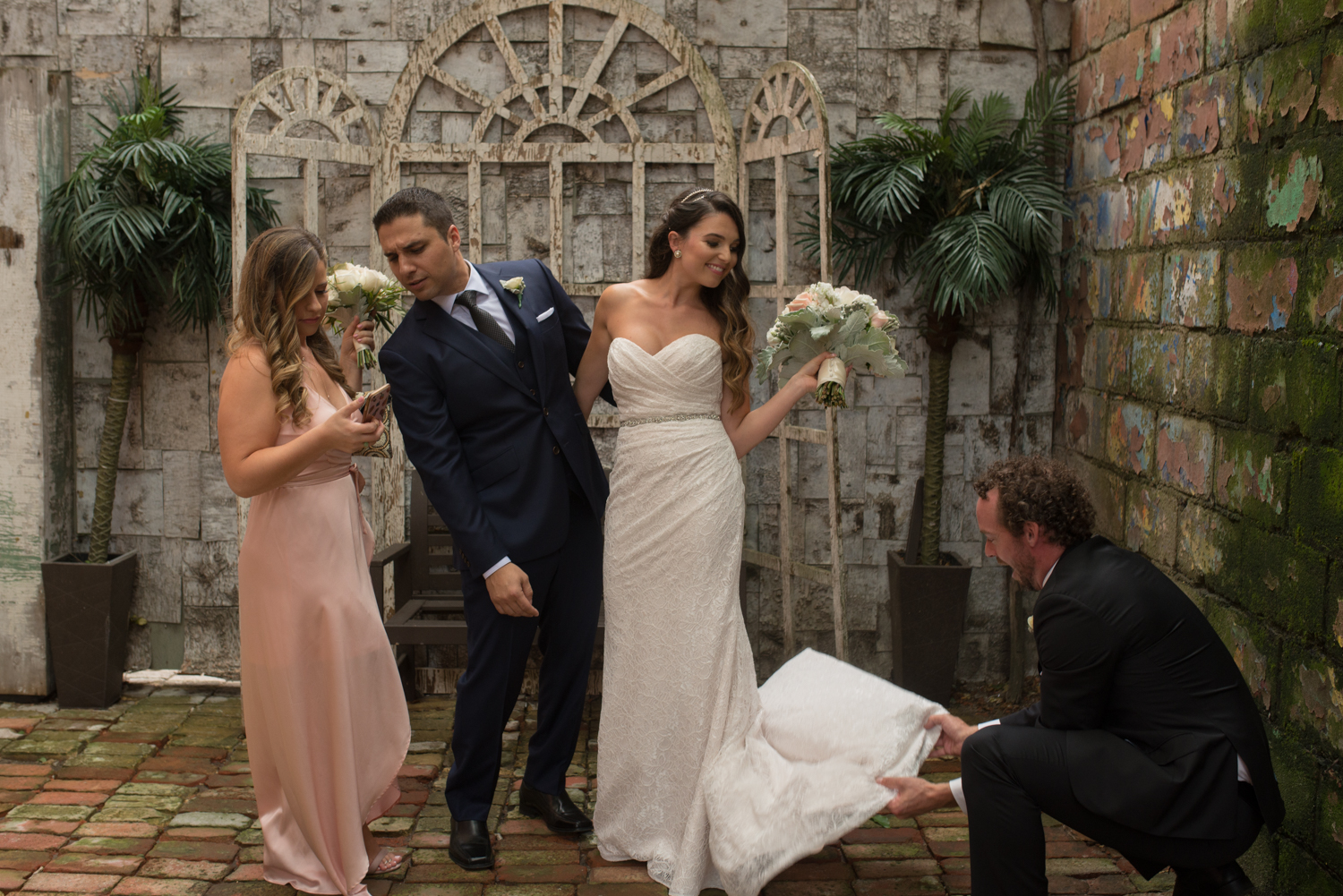 Toronto Wedding Photography at Berkeley Church with sounds like yellow photography