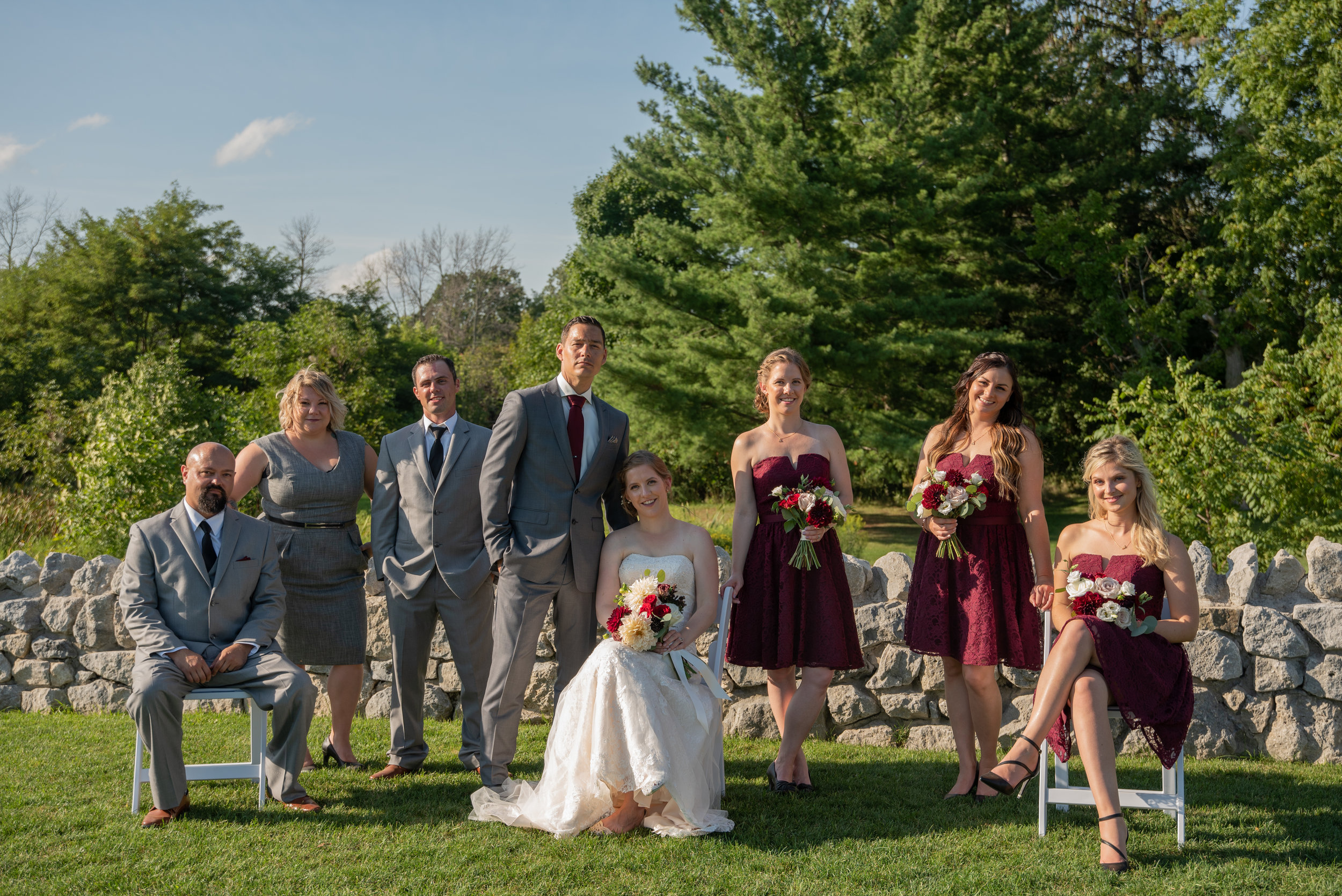 Knollwood Golf Club Wedding Photography with Soundslikeyellowphotography Belle Époque Floral Design