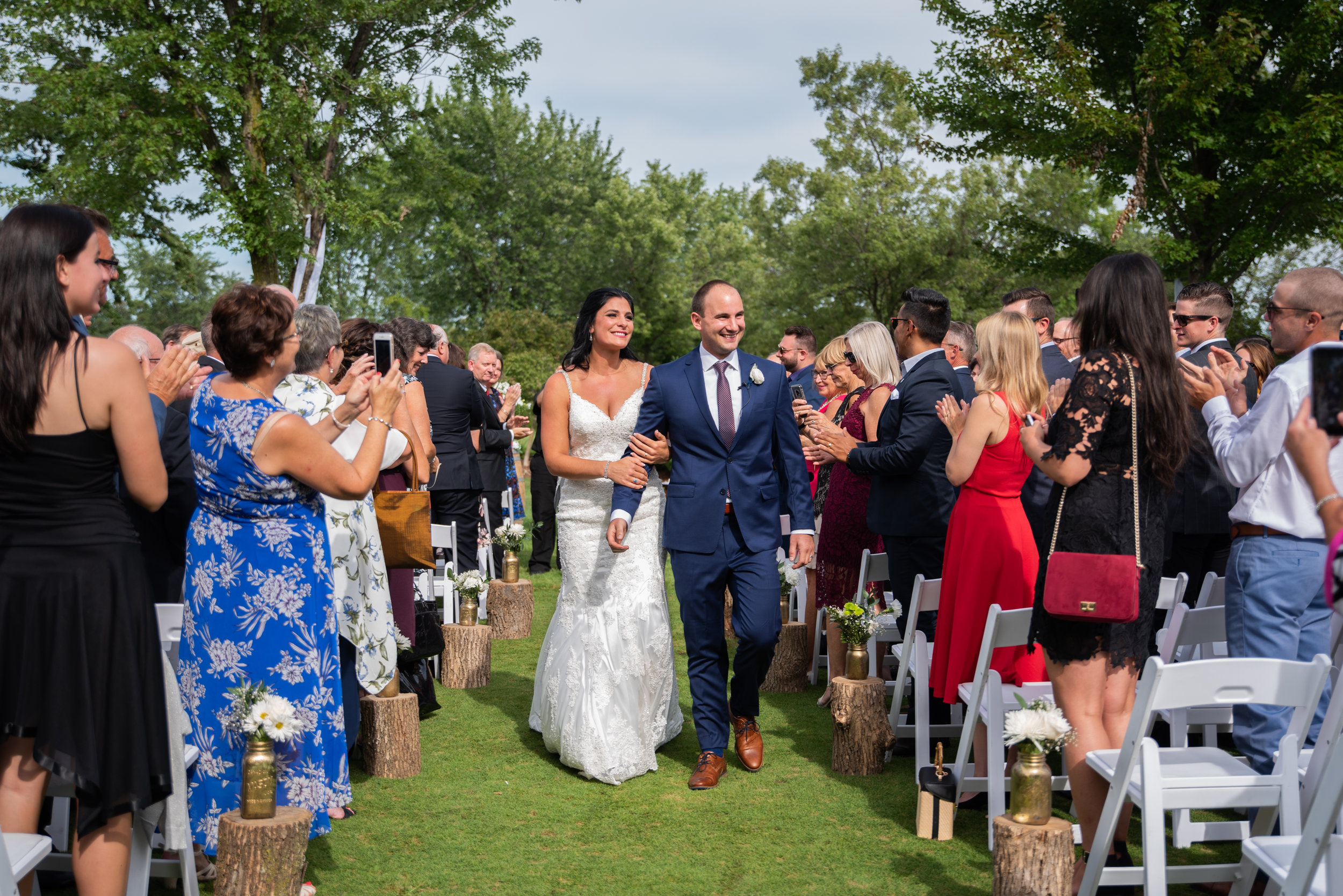 St. Catharines golf and country club wedding with soundslikeyellowphotography