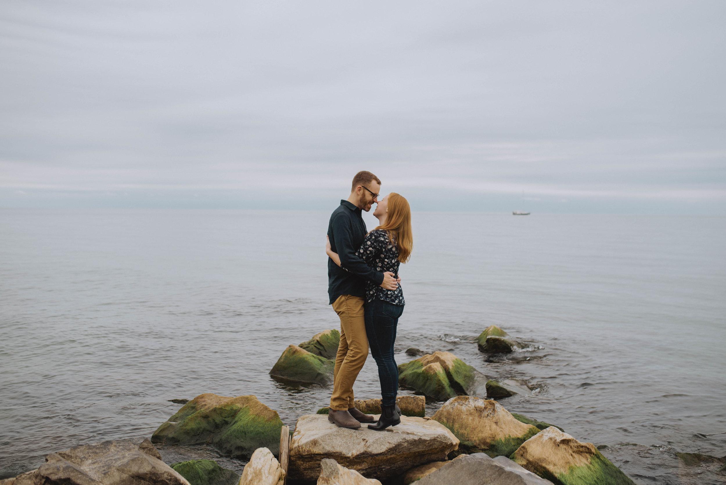 Toronto Island engagement session
