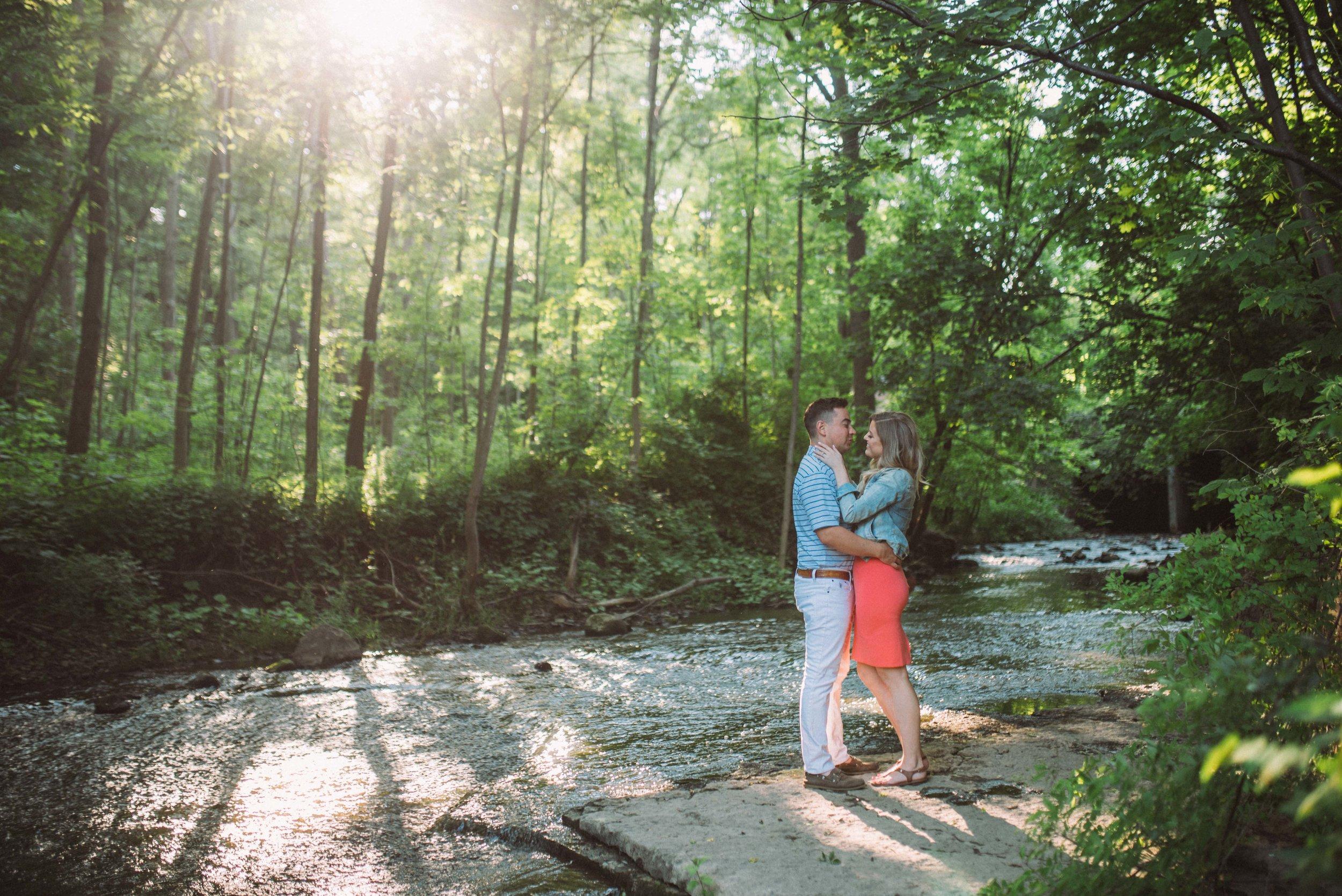 Smokey Hallow Falls Engagement hamilton ontario, hamilton wedding photographer