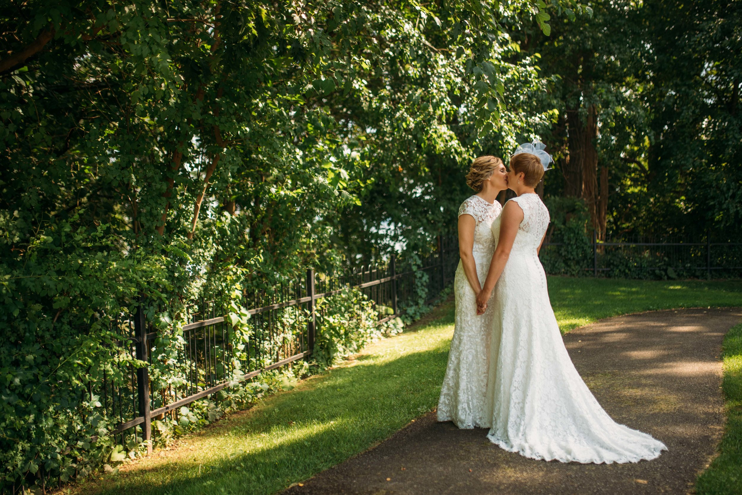 Burlington Lasalle Park wedding, same sex wedding with soundslikeyellowphotography
