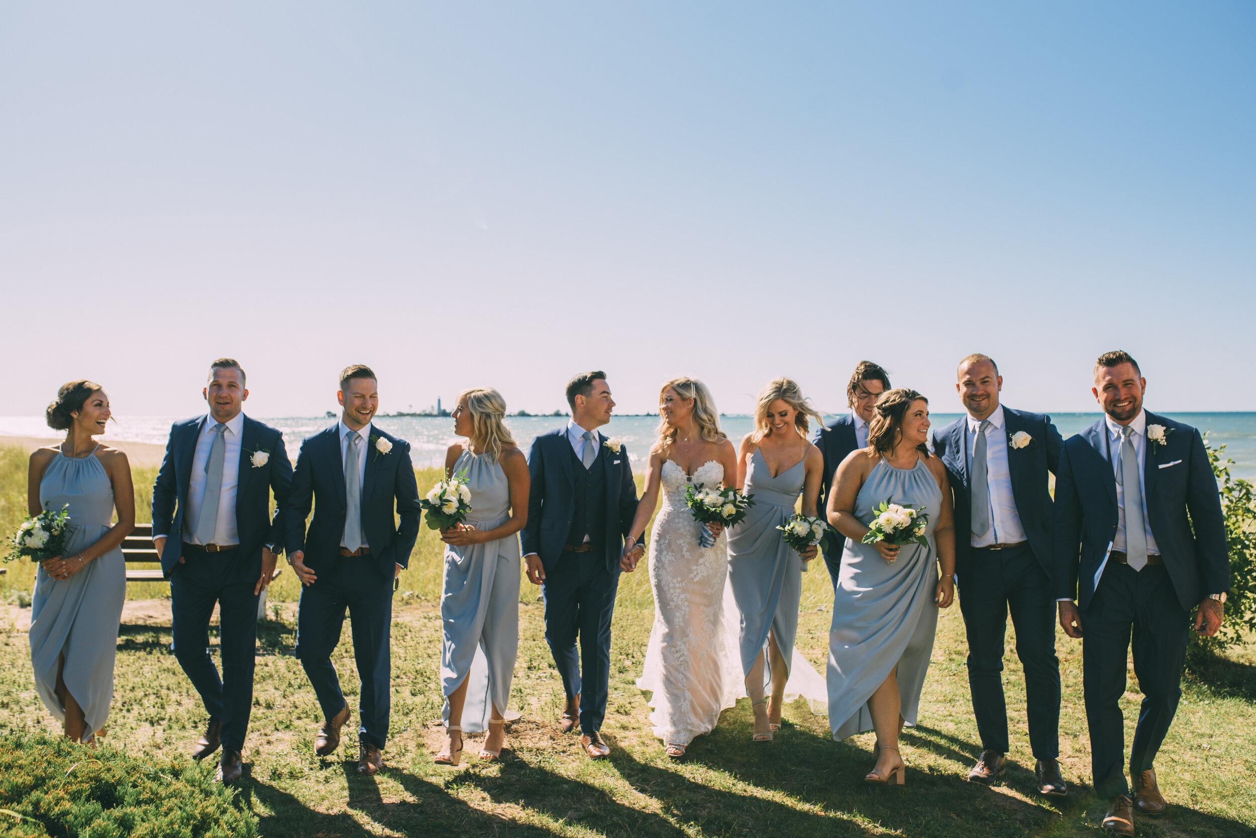Southampton beach wedding with soundslikeyellowphotography
