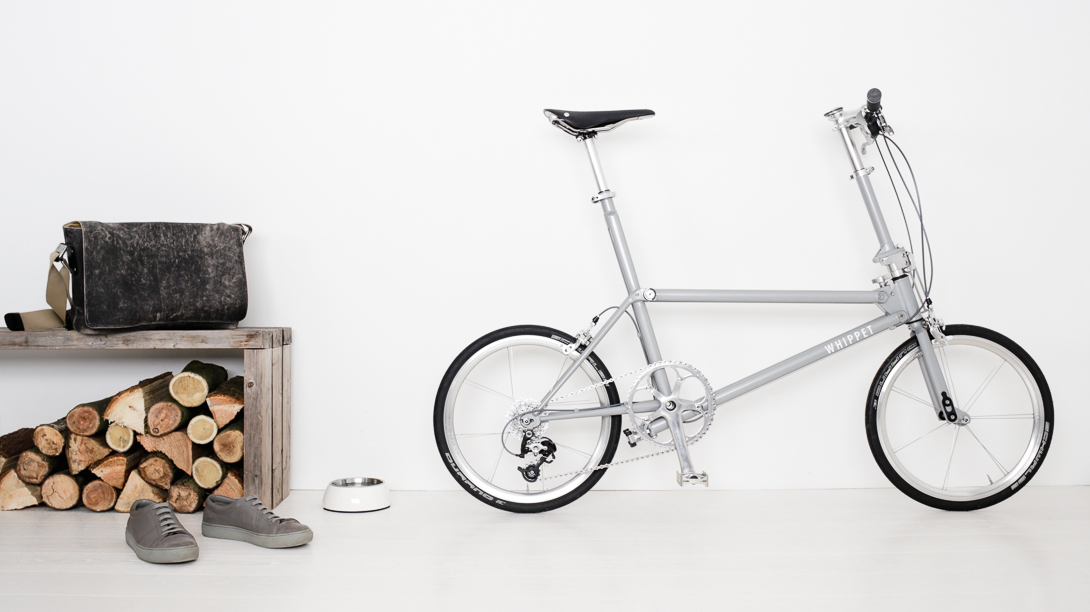Whippet Bicycle - British made folding bicycle