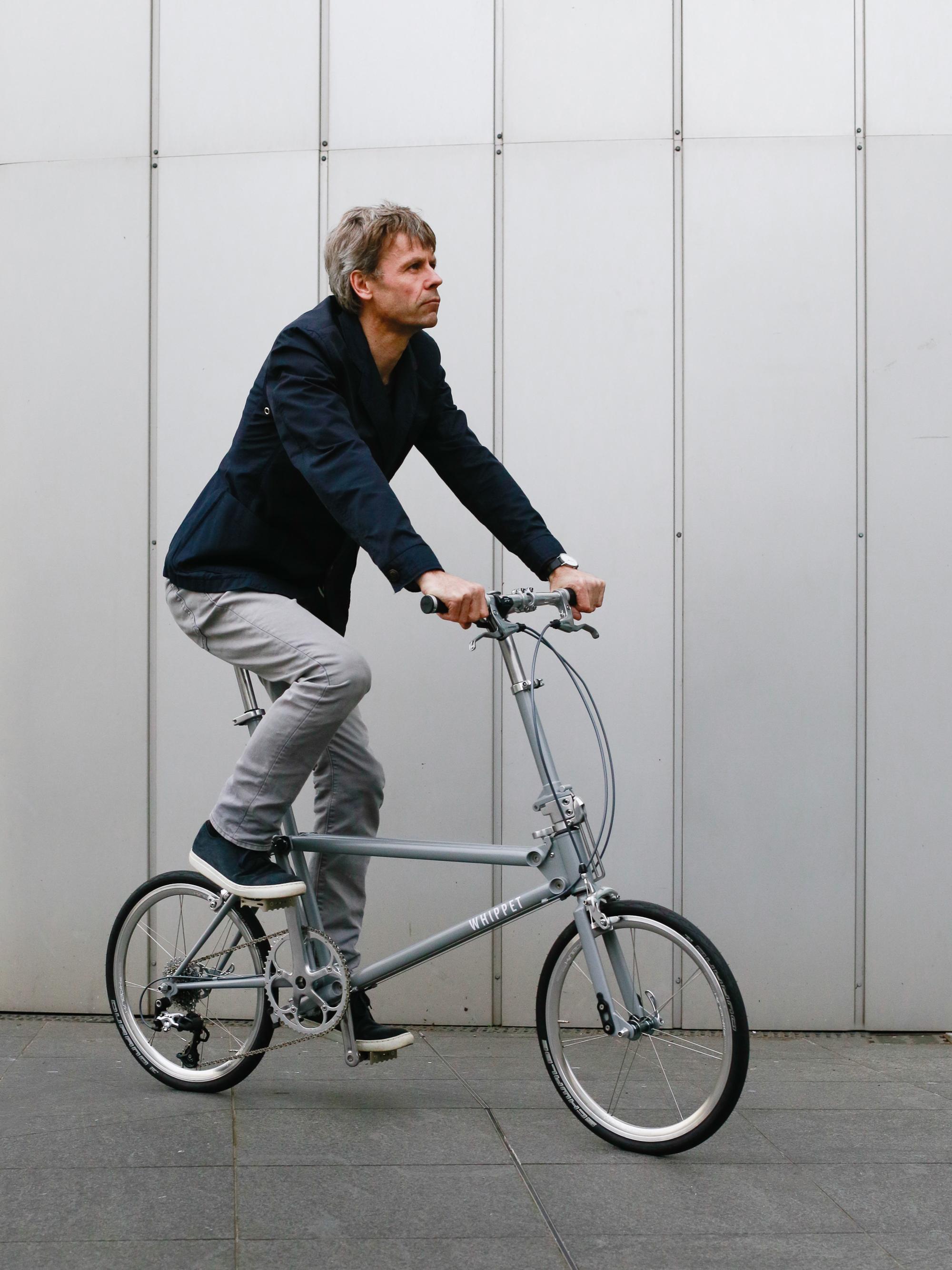 Whippet Bicycle - urban riding