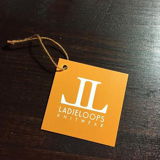 The tag... #LadieLoops #knitwear