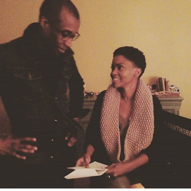 LadieLoops has made its way around the neck of the beautiful and talented GreenLeaf actress, Kim Hawthorne!