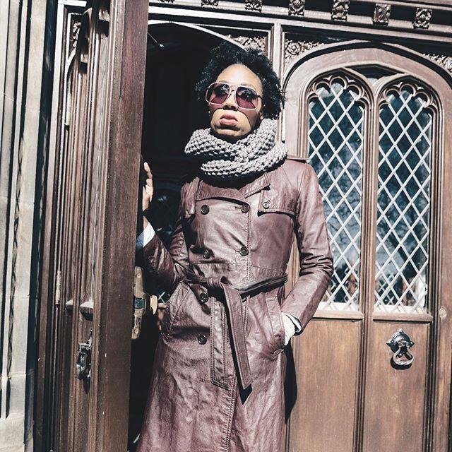 Walking into Fall 2017 like...🍁 • • • • Designer: @LadieLoops Model: @mzegypt MUA: @bombshellartist  Photographer: @dannycaryphoto  Eyewear: @labrabbitoptics  #knitwear #fall #handknit #tbt2016 #knitwear #knit #naturalfibers #wool #LadieLoops #loveknits #luxury #luxuryknits  #luxuryknitwear #handmade #knitweardesigner #loops #knitandpurl #cashmere #alpaca #wool #superwashwool #womenknits #knittedscarf handknit #fallinlovewithknits #fashionknitwear #bedifferentinLadieLoops
