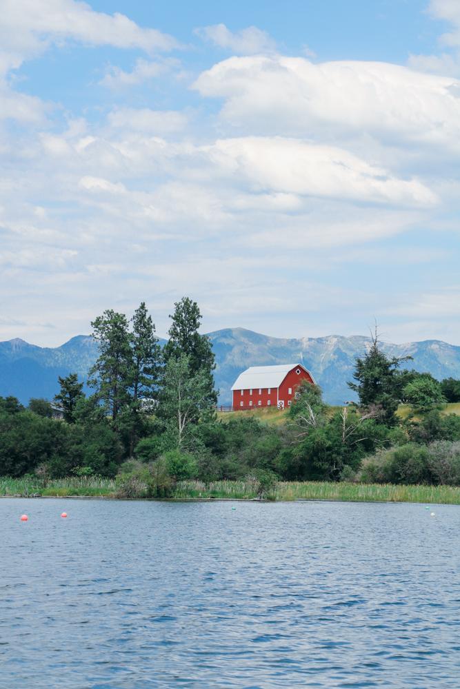 My Tapestry Heart- Flathead Lake