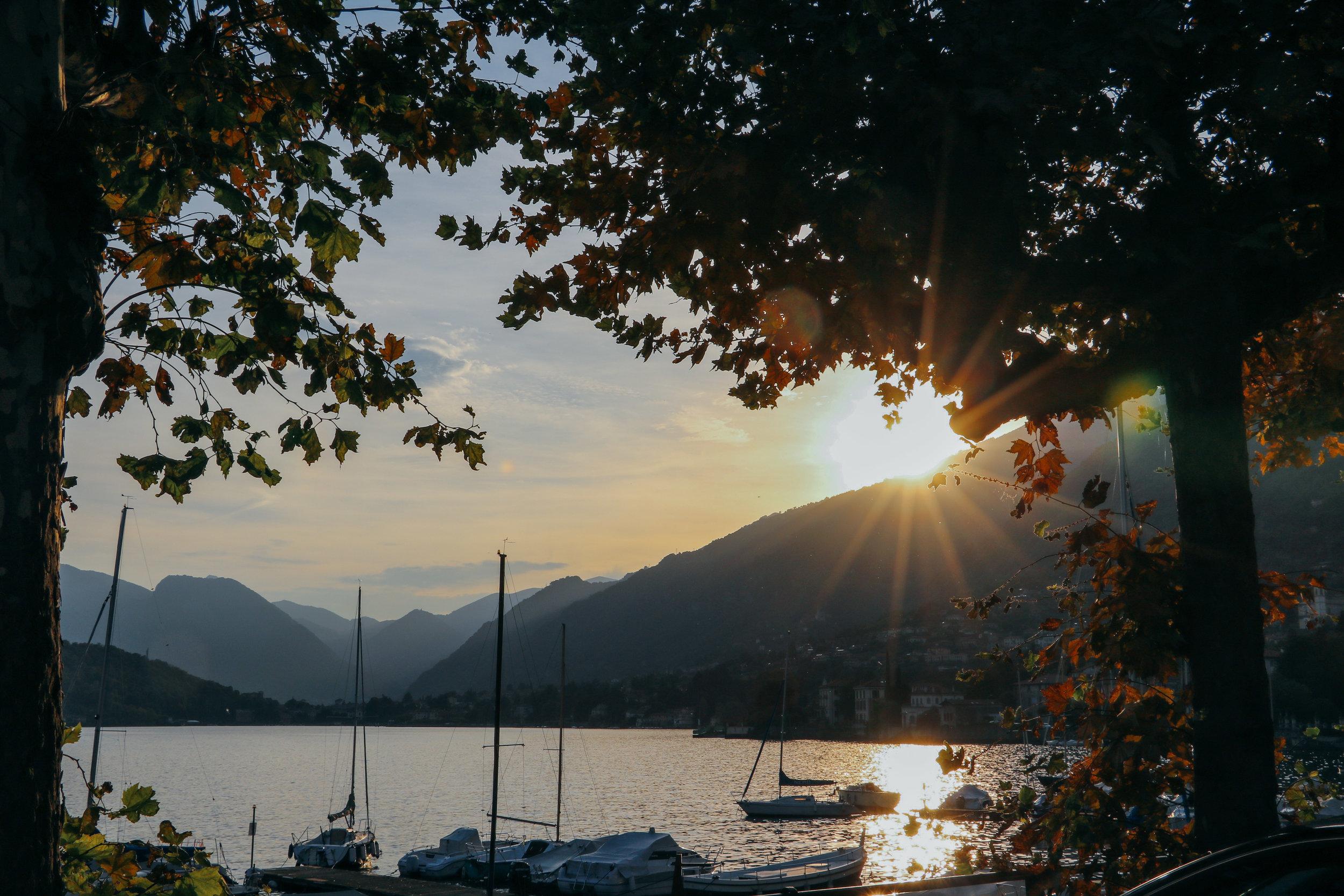 My Tapestry Heart - Lake Como