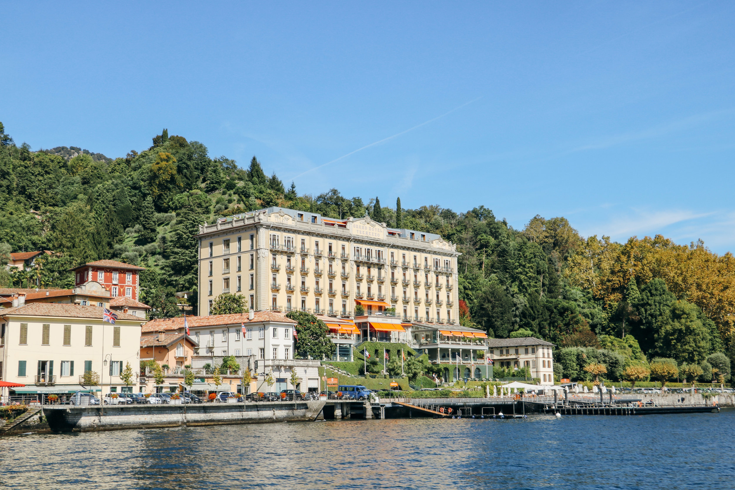 My Tapestry Heart- Lake Como
