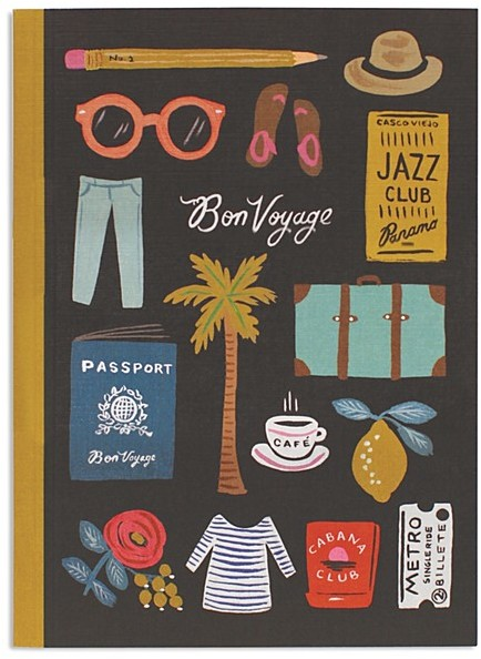 Rifle Paper Co. Journal - Record all of your global adventures in style with the Travel Essentials Journal.To buy: Bloomingdales, $15