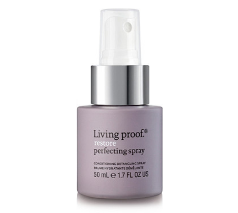Living Proof Detangling Spray - I love this conditioning detangling spray especially for summer or tropical travels when my hair spends lots of time wet. Not only does it help brush through tough tangles and boosts hydration, but it's also provides heat protection. Plus it smells great!