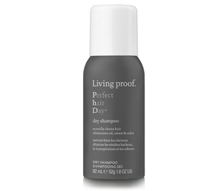 Living Proof Dry Shampoo - Dry shampoo can be a lifesaver when traveling and this Living Proof version cleans beyond ordinary dry shampoos. It absorbs and removes oil, sweat and odor, and even has a time-released fragrance to deliver a light, clean scent throughout the day. Perfect for long travel days!