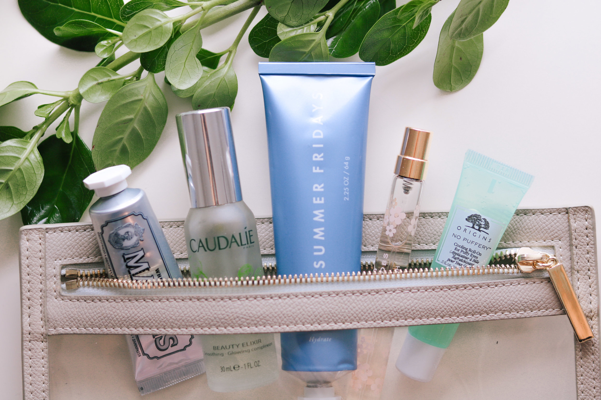 Travel Toiletry Bag Must Haves - by Courtney Brown