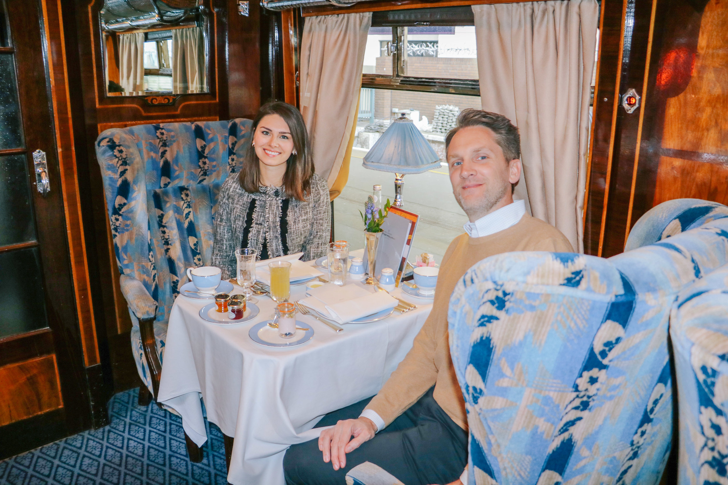 Timeless Travel Across Great Britain: My Journey on the Belmond British Pullman - by Courtney Brown