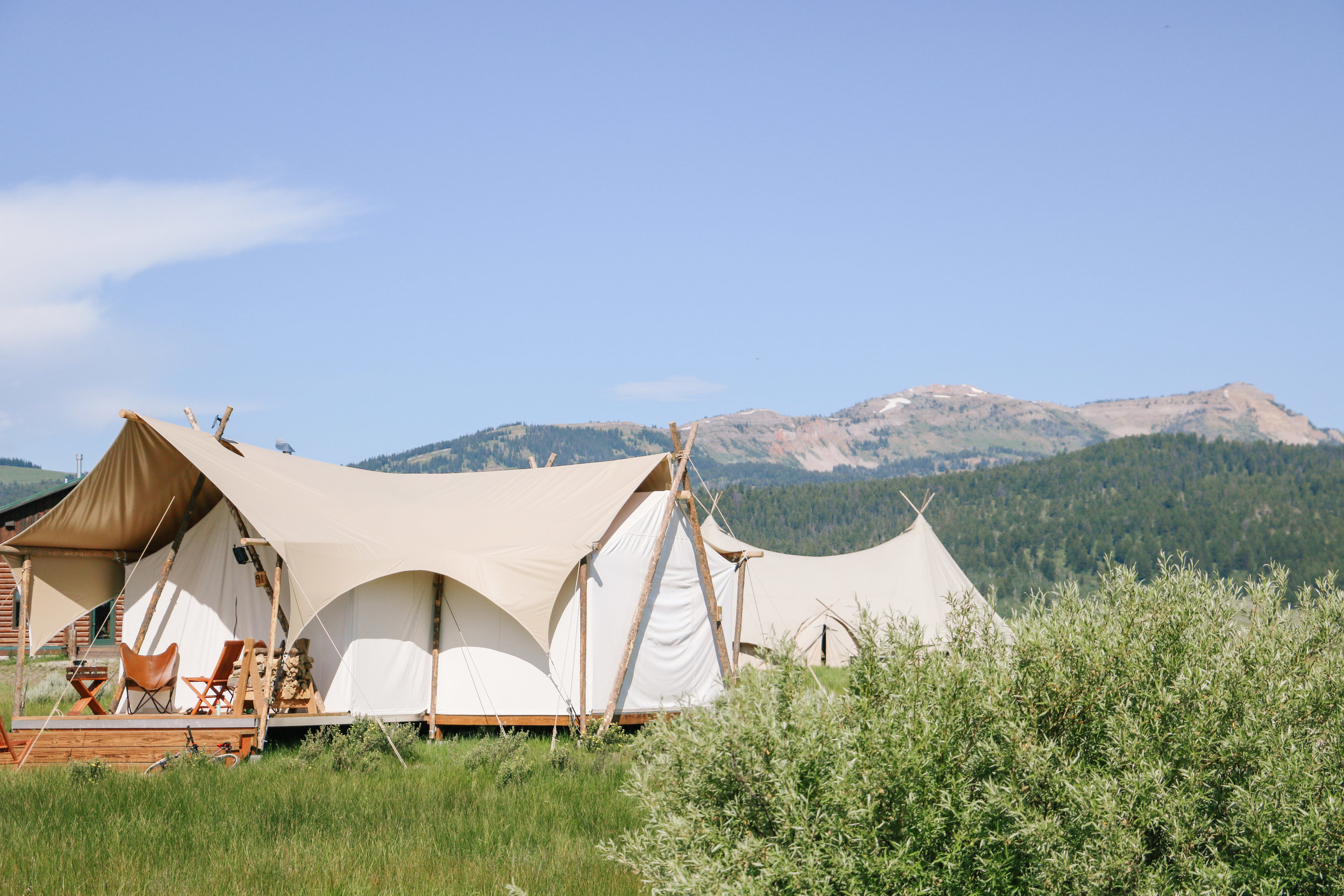 Hotel Spotlight: Glamping at Under Canvas in Yellowstone