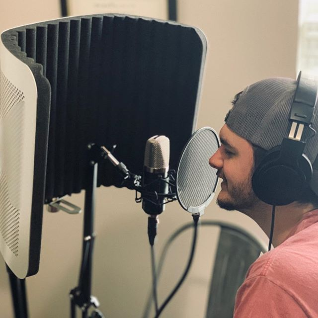 Studio day! New music on the horizon! 🎤🤘🏻🎵 #countrymusic #country #music