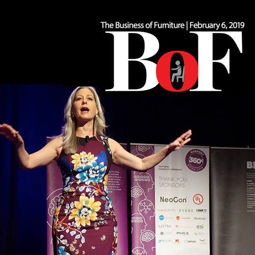 February 6, 2019 -  Economist Lays Out Forecast for BIFMA 360 Attendees ( The Business of Furniture )