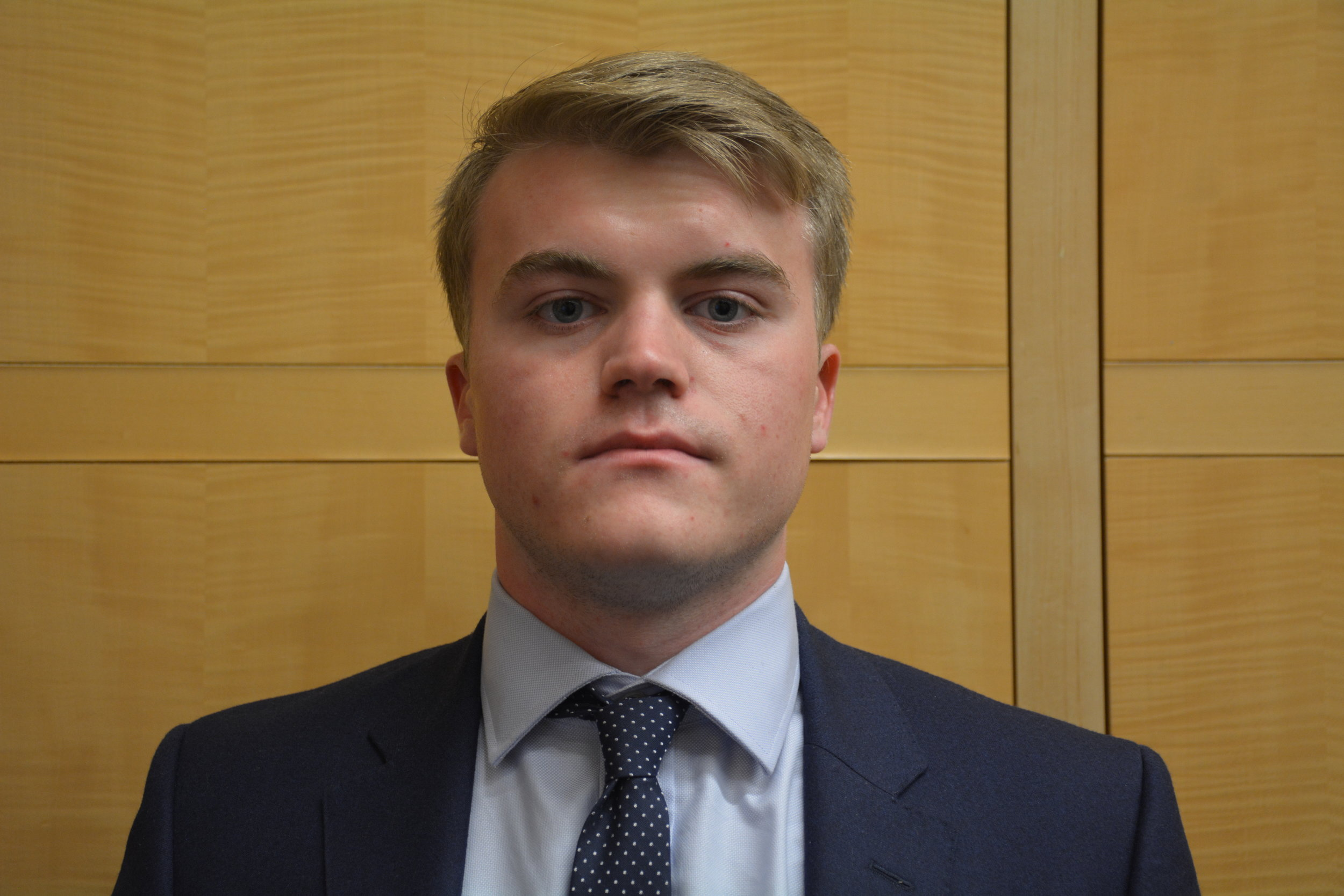 Hamish MacDiarmid '19 - The government and business major combines my interest in politics and learning about finance. I joined CBR as i enjoy the breadth of knowledge that I gain from my fellow club members.