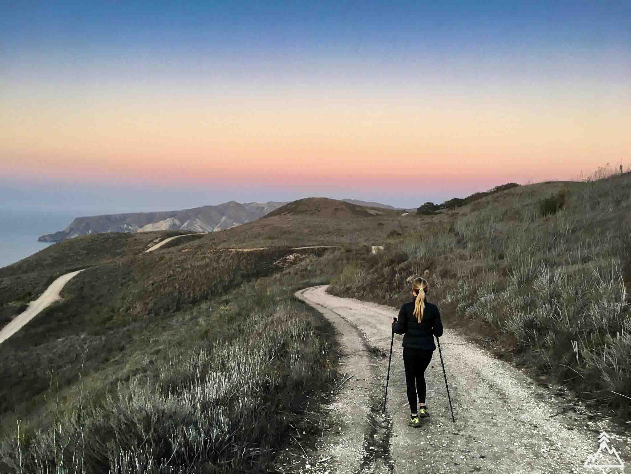 Del Norte Campground sunset