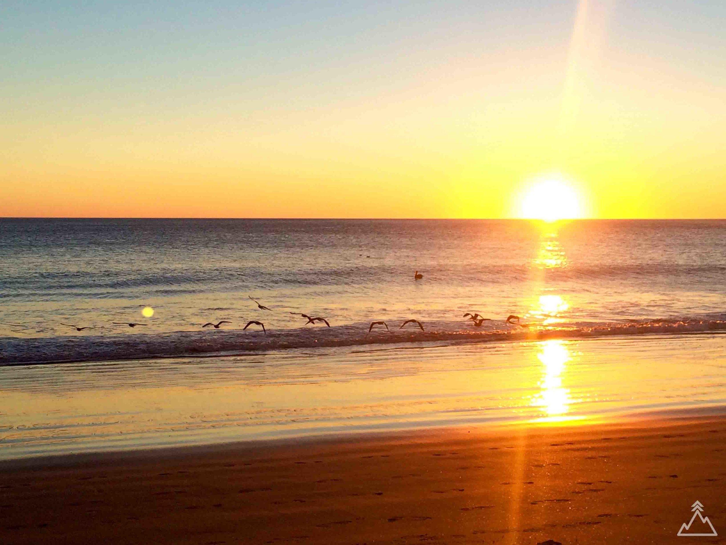 Limantour Beach sunset