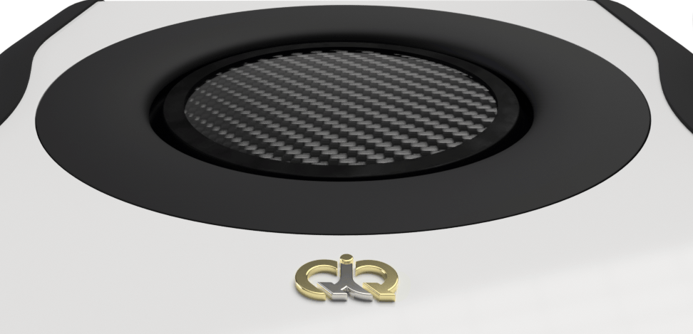 Carbon fiber sub-woofer face-plate