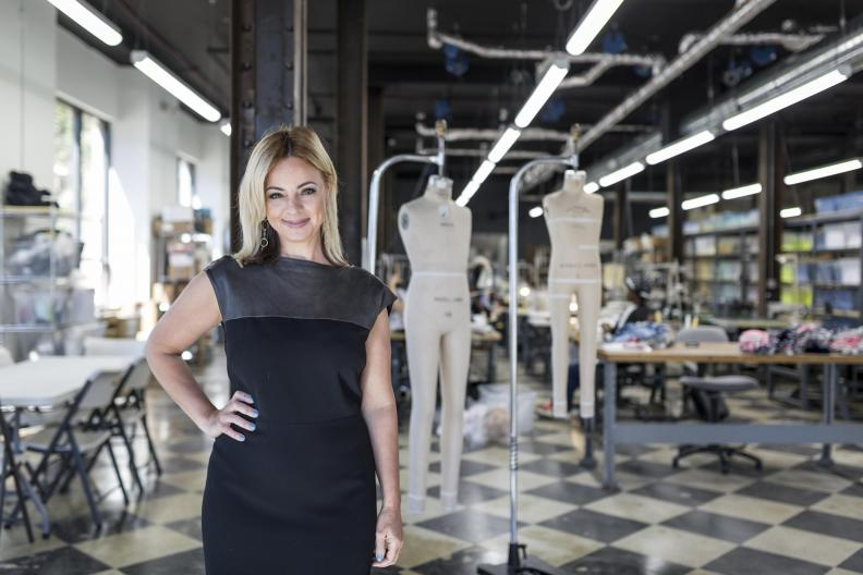 Karen Buscemi founder of Detroit Sewn. Photo courtesy of  Crain's Detroit Business .