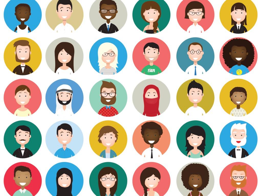 set-of-diverse-round-avatars-vector-id613531518.jpg