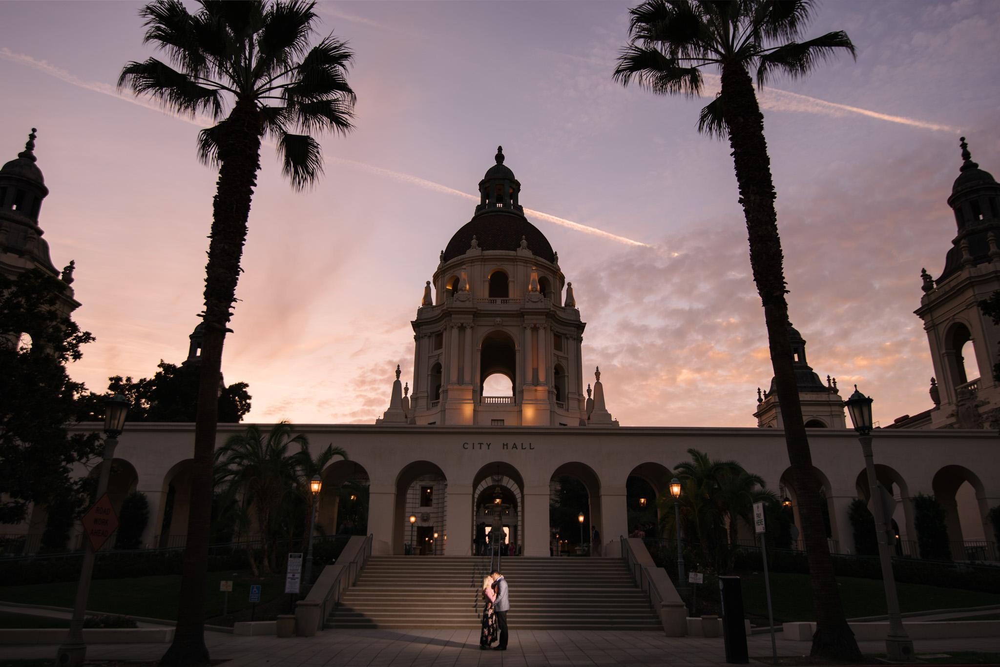 0014-JM-Pasadena-City-Hall-Los-Angeles-County-Engagement-Photography