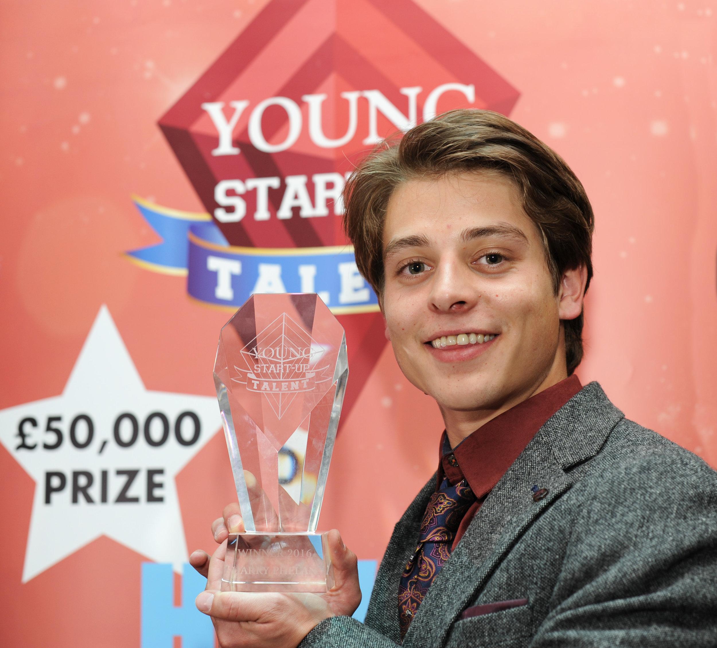 Solent Young Start Up Winner Harry Phelan