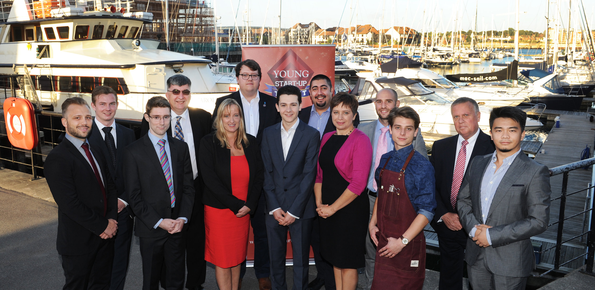 Young Start-up Talent Judges and Finalists Solent 2016