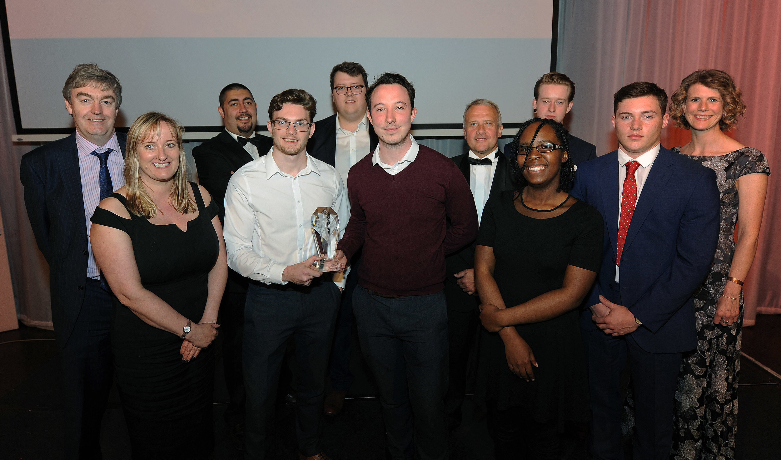 Young Start-up Talent finalist and judges Croydon 2016