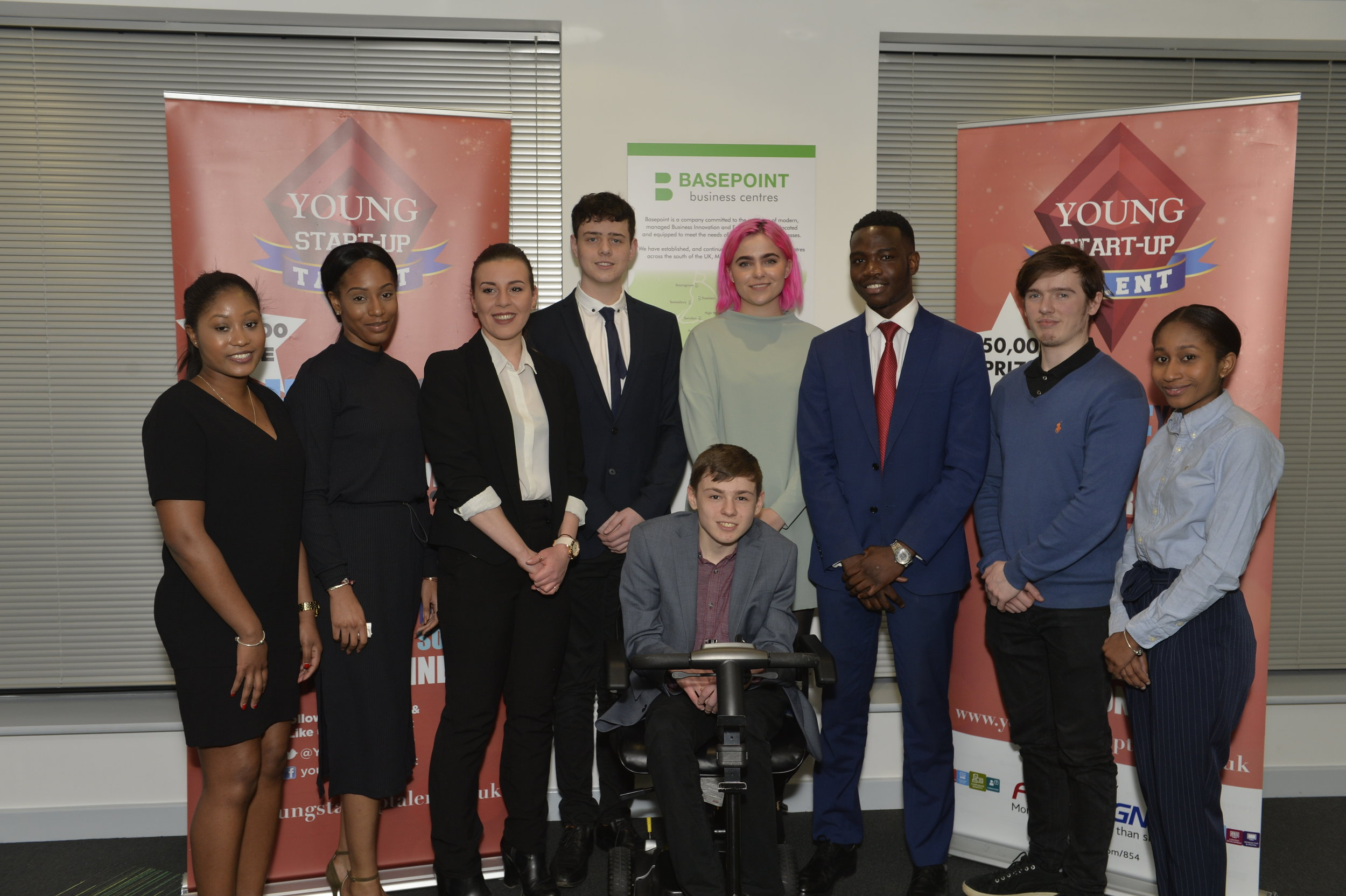 Young Start-up Talent South East 2018 finalists