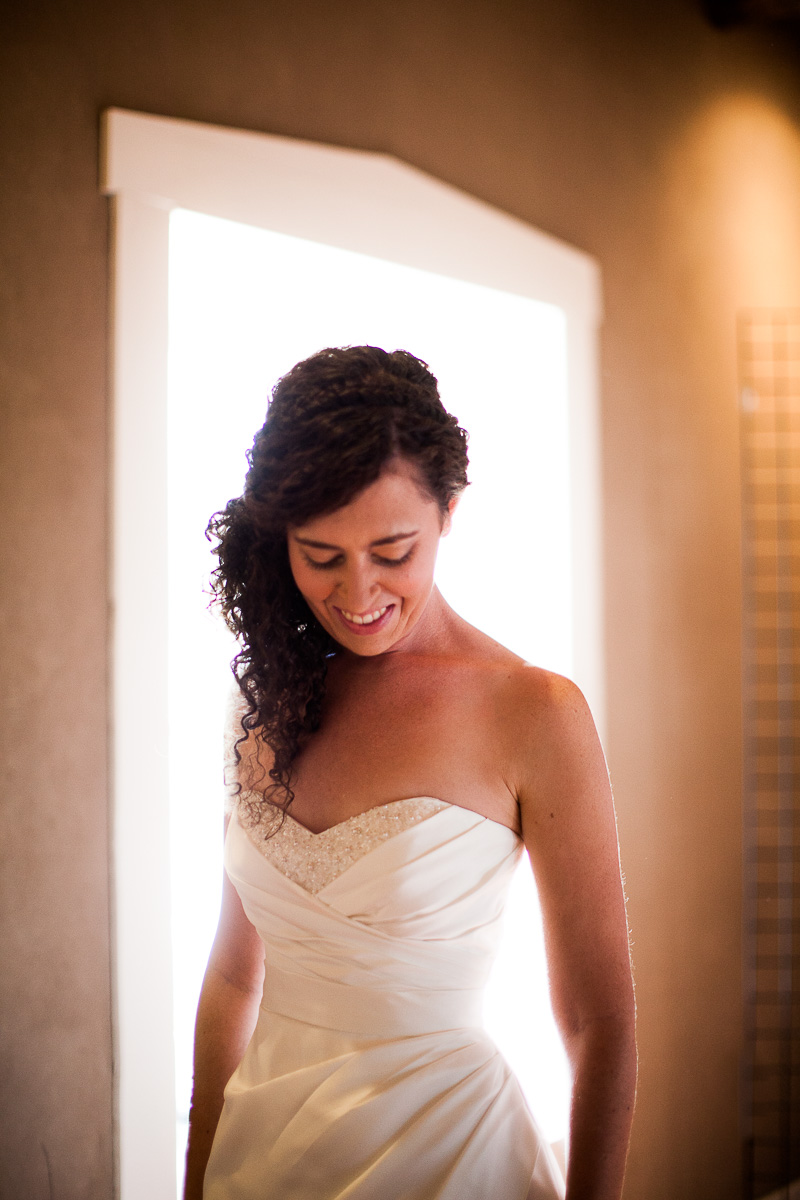 Sweet and beautiful bride