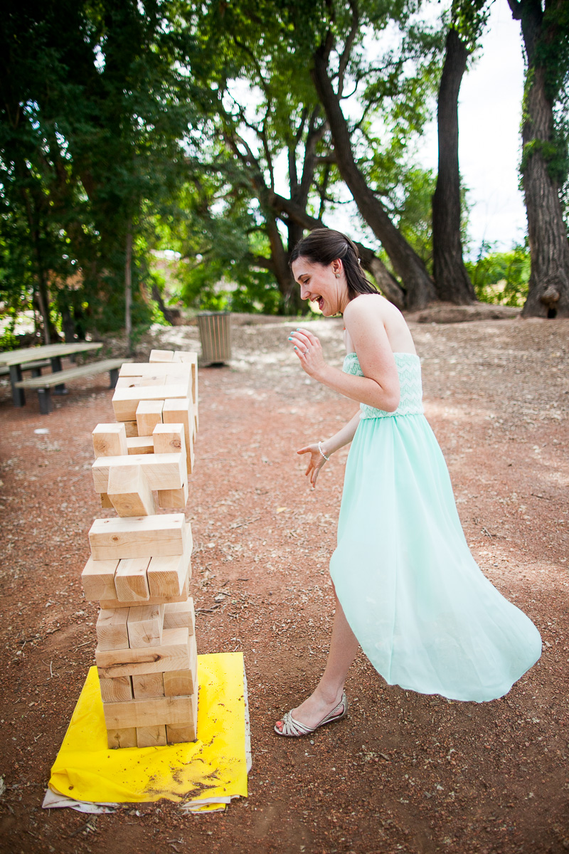 Life sized Jenga game for the kid in you!