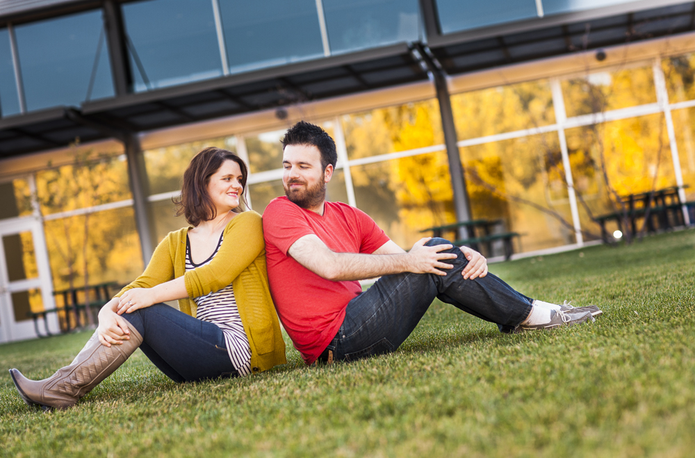 Click to see photos from Sean & Andrea's colorful engagement session