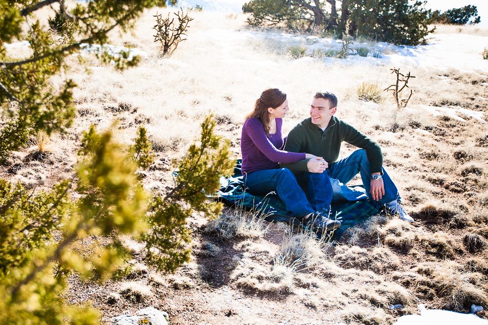 High desert beauty, New Mexico, Engagement