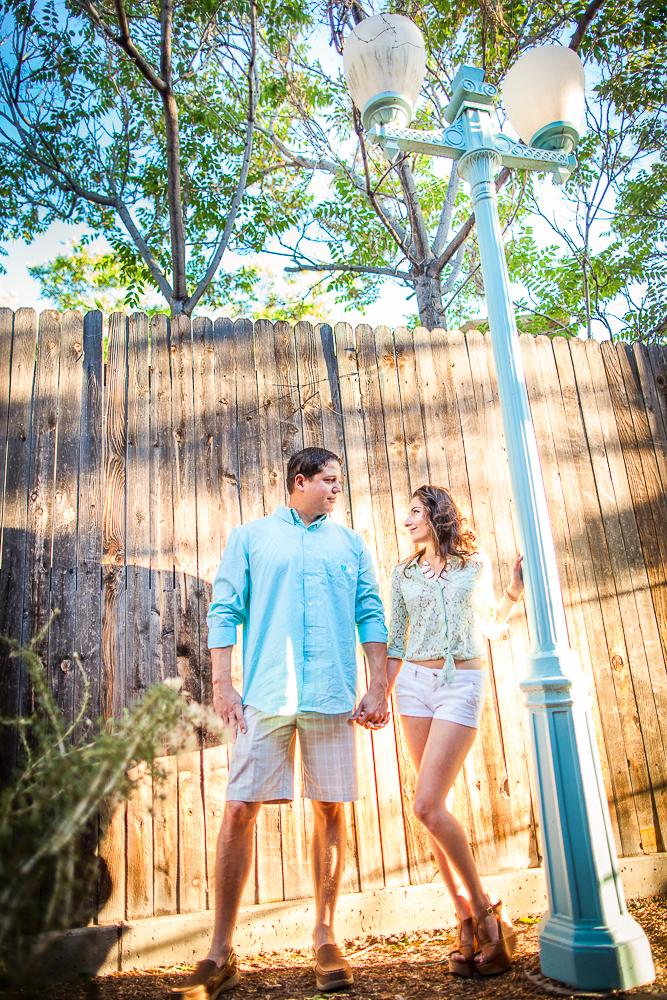 JC & Gaby romantic engagement photo
