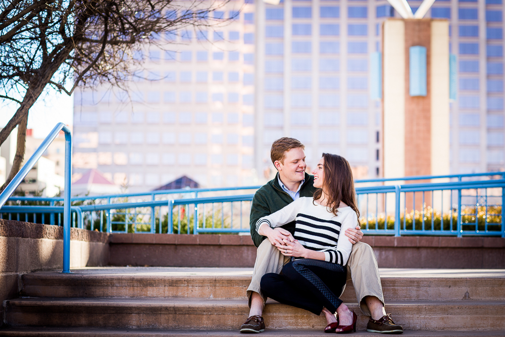 Click to see photos from Alex & Rebecca's engagement session