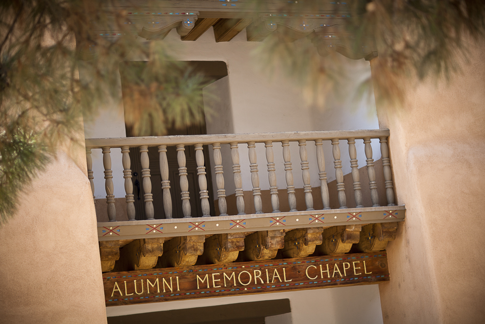Emma & Aaron tied the knot at the alumni memorial chapel