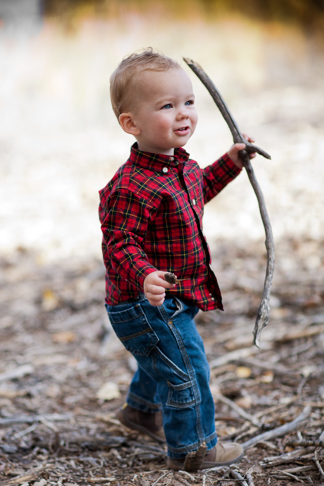 Son of the biendiez family looking sweet in the woods