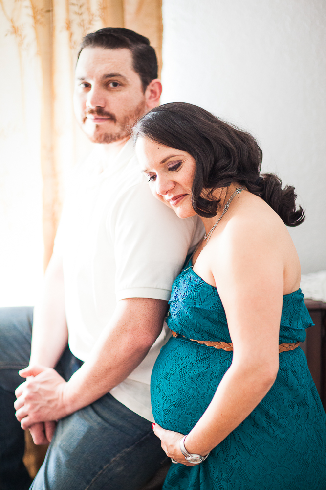 Melissa is glowing in this maternity photo